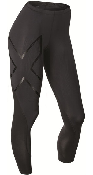 2XU W's Elite MCS Compression Tights Black/Black logo
